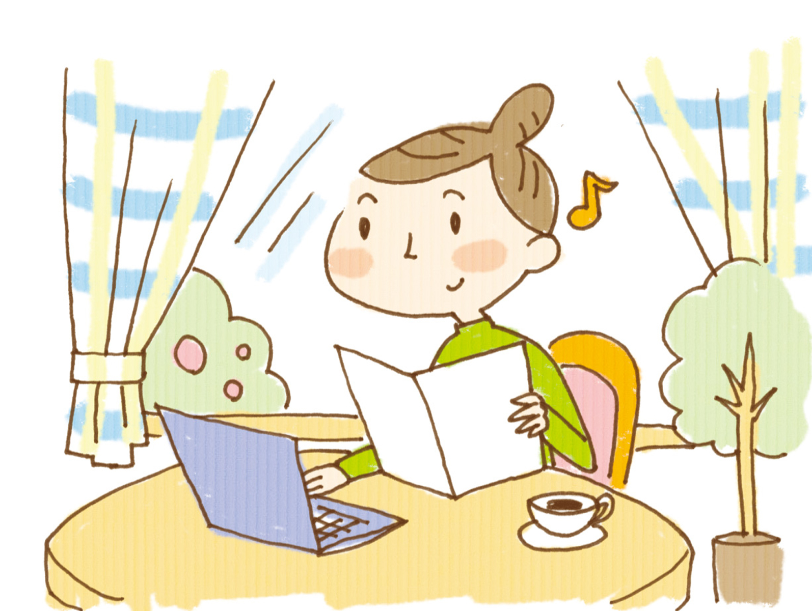 fc2ブログの作り方-2日目-パソコン音痴の妻にも出来た!