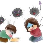 ノロウィルスとロタウイルスの症状の違い、予防と対策について