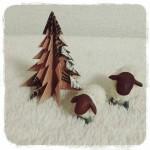 折り紙で作れてインテリアにもなるおしゃれクリスマスツリー